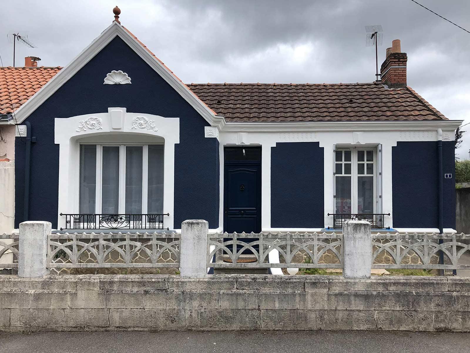 Renovation façade reze