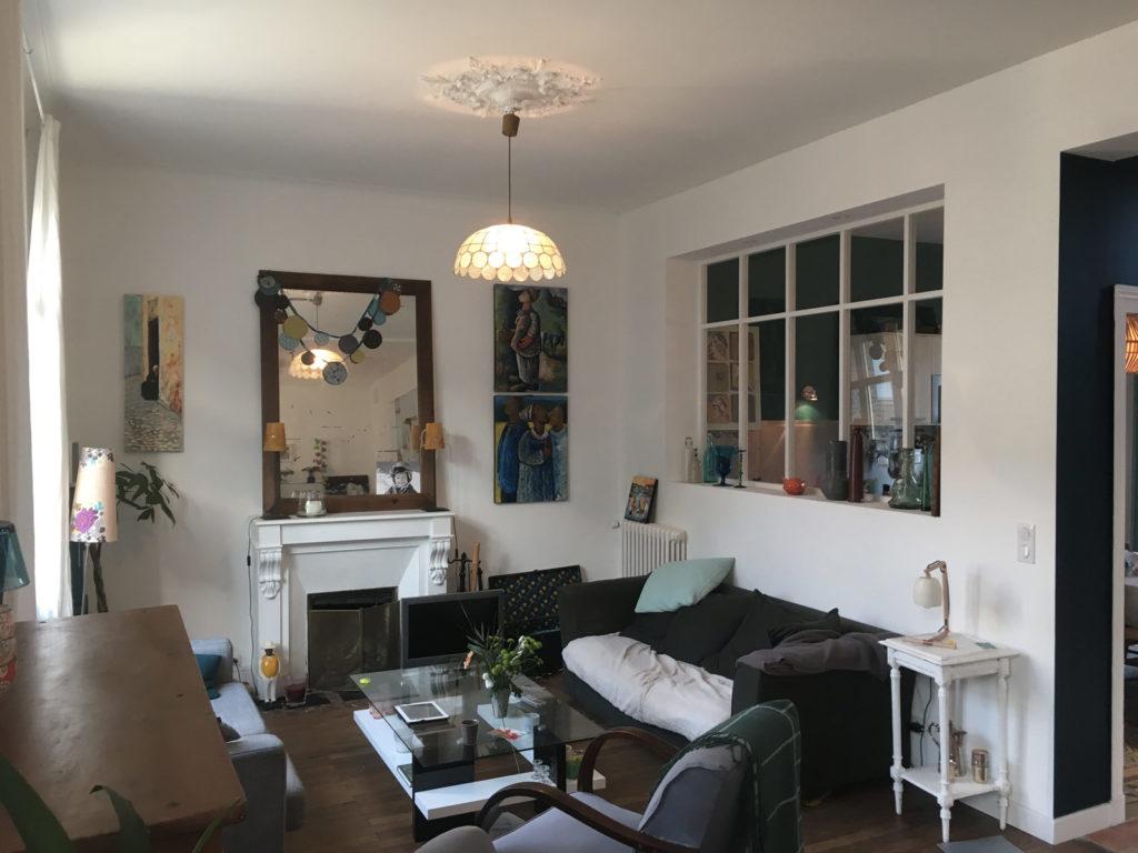 Renovation interieure salon
