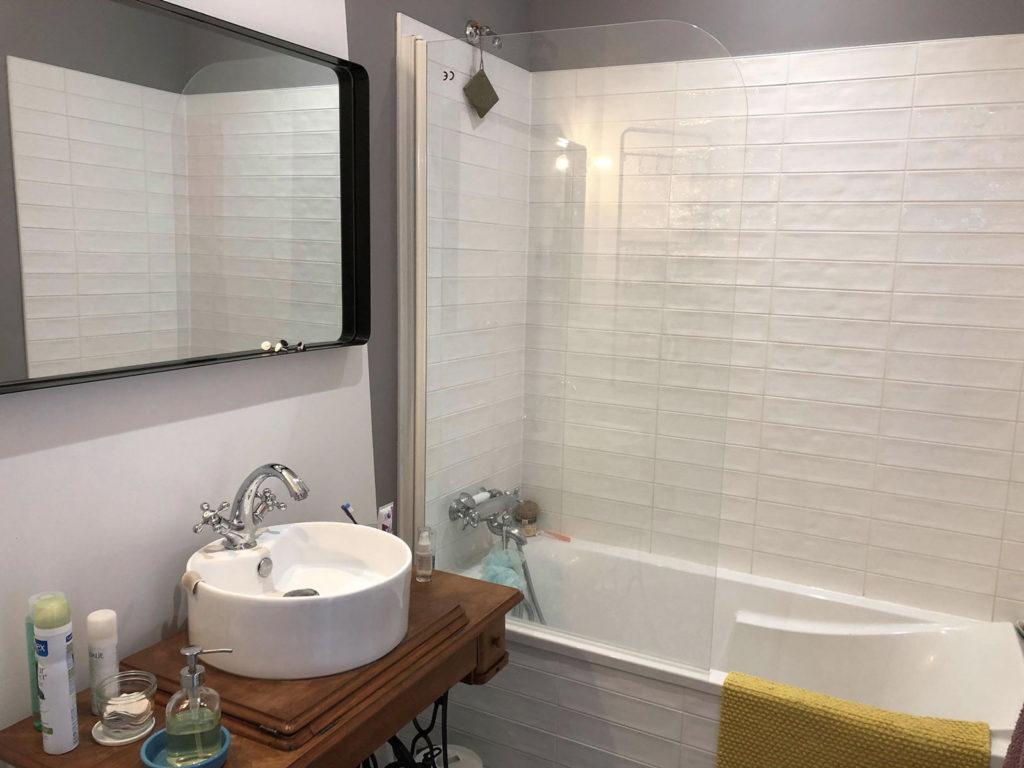 Renovation salle de bain interieure reze